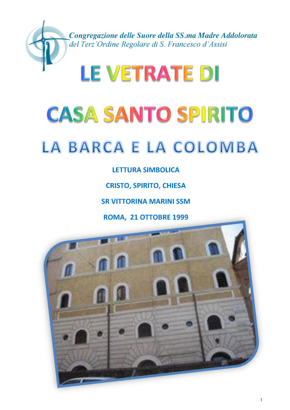 LE VETRATE DI CASA SANTO SPIRITO